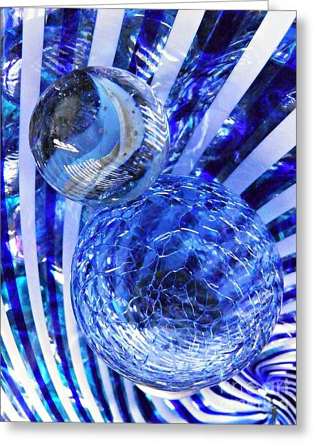 Raw Photography Greeting Cards - Glass Abstract 84 Greeting Card by Sarah Loft
