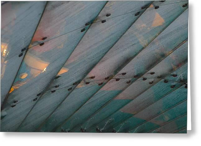 Bill Mock Greeting Cards - Glass Canopy Edinburgh Greeting Card by Bill Mock