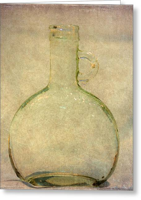 Old Glasses Greeting Cards - Glass From the Past Greeting Card by Angie Vogel