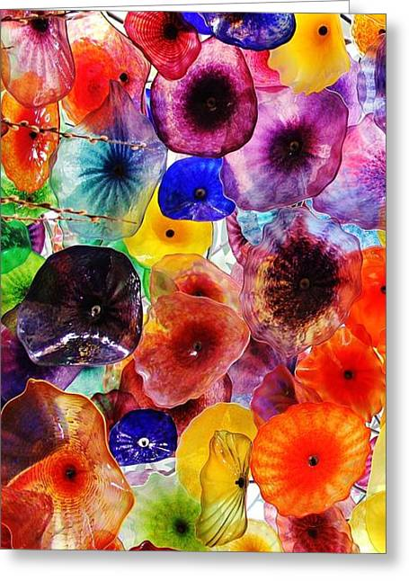 Glass Garden Greeting Cards - Glass Garden 1 of 3 Greeting Card by Benjamin Yeager