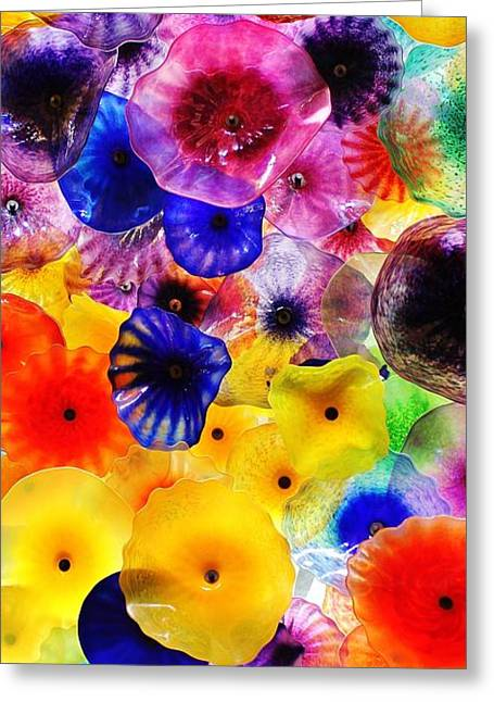 Glass Garden Greeting Cards - Glass Garden 2 of 3 Greeting Card by Benjamin Yeager