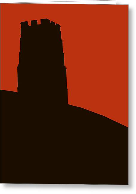 Tor Paintings Greeting Cards - Glastonbury Tor Greeting Card by Rob Meredith
