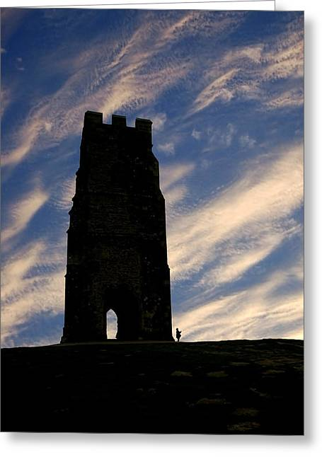 Guinevere Photographs Greeting Cards - Glastonbury Tor Greeting Card by Robert Taylor
