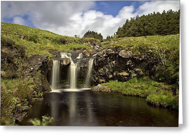 Glen Brittle Greeting Card by David Pringle