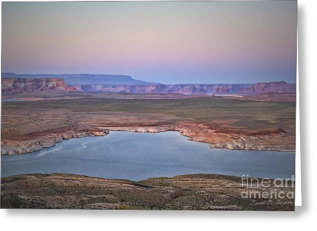 Glen Canyon Page Az Ix Greeting Card by Dave Gordon