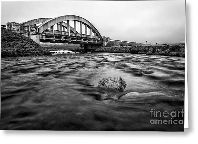Glen Coe Bridge Greeting Card by John Farnan