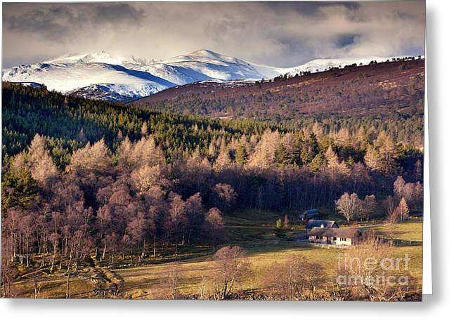 Eys Greeting Cards - Glen Ey Greeting Card by Mike Stephen