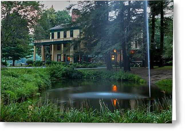 The Grand Canyon Greeting Cards - Glen Iris In Afternoon Panorama Greeting Card by Adam Jewell