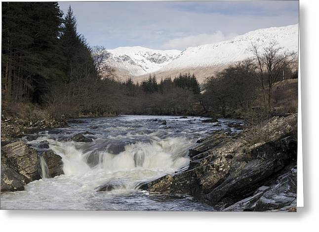 Glen Orchy Scotland Greeting Card by Pat Speirs
