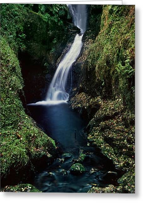 Northern Ireland Greeting Cards - Glenariff Greeting Card by Rod McLean