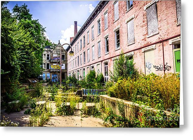 Conditions Greeting Cards - Glencoe-Auburn Hotel in Cincinnati Picture Greeting Card by Paul Velgos
