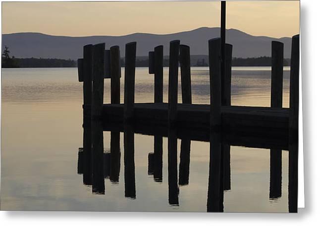 Glendale Docks No. 1 Greeting Card by David Gordon