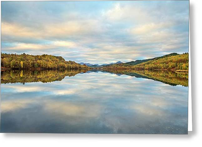 Glengarry Greeting Card by Simon Booth