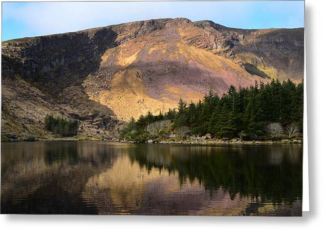 Walsh Lake Greeting Cards - Glentenassig  Greeting Card by Barbara Walsh