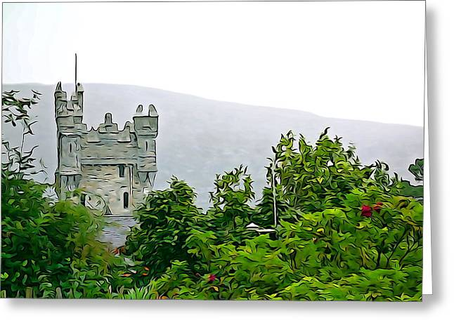 Lake Gentry Greeting Cards - Glenveagh Greeting Card by Charlie and Norma Brock