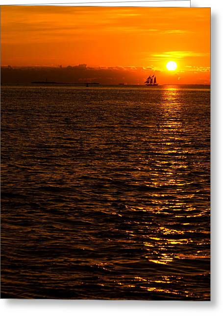 Key West Greeting Cards - Glimmer Greeting Card by Chad Dutson