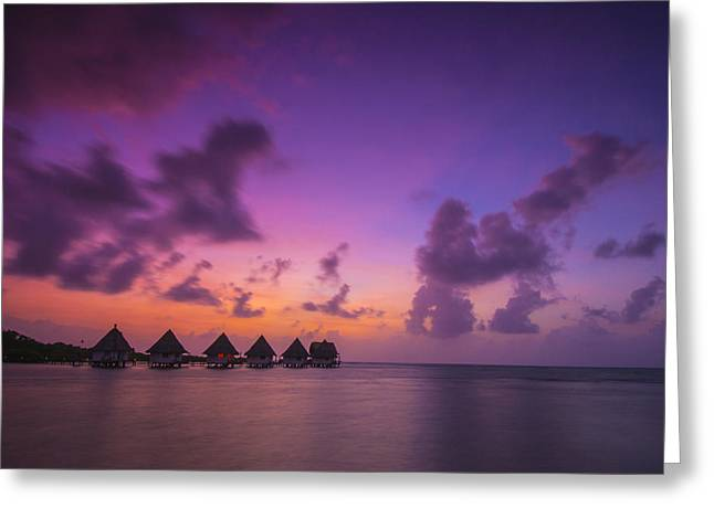 Cruise Vacation Greeting Cards - Glimpse of Heaven Greeting Card by Aaron S Bedell