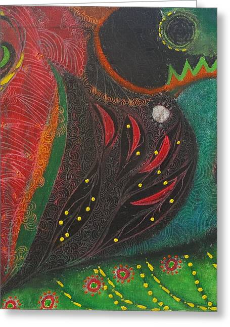 Dot Pastels Greeting Cards - Glimpse Of Light Greeting Card by Crave  Art
