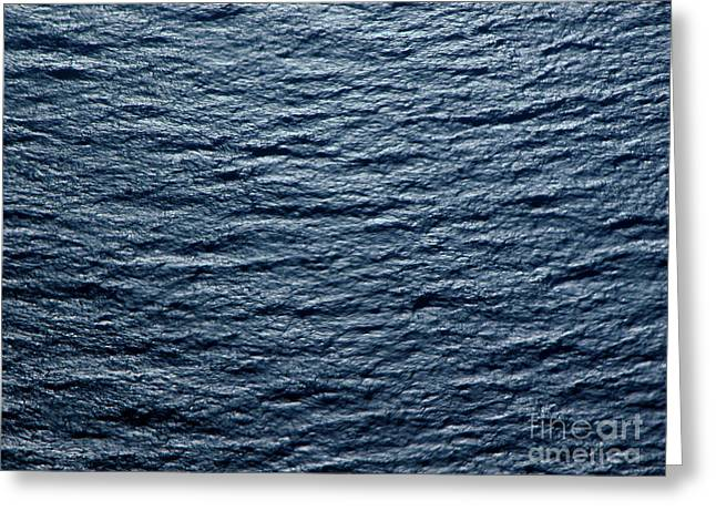 Abstract Waves Greeting Cards - Glistening Water Greeting Card by Tim Holt