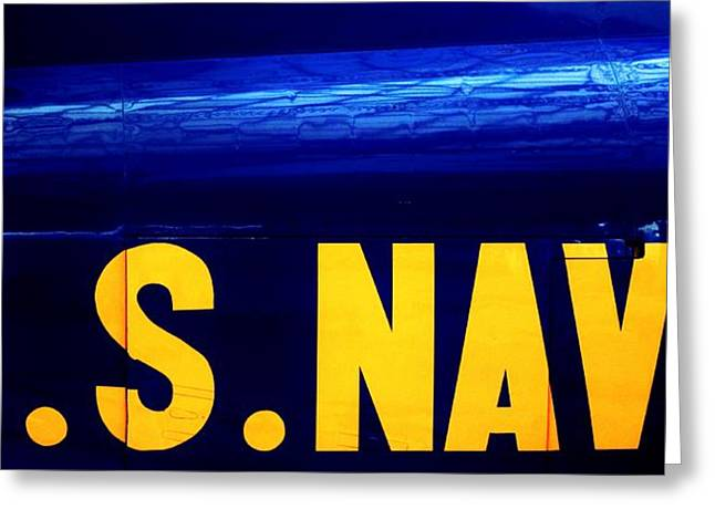 Us Navy Greeting Cards - Global Force Greeting Card by Benjamin Yeager