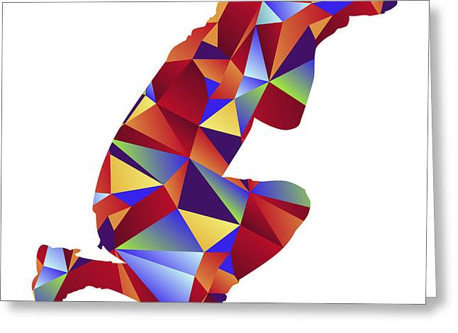 Geometric Style Greeting Cards - Global Photographer Icon Greeting Card by John Takai