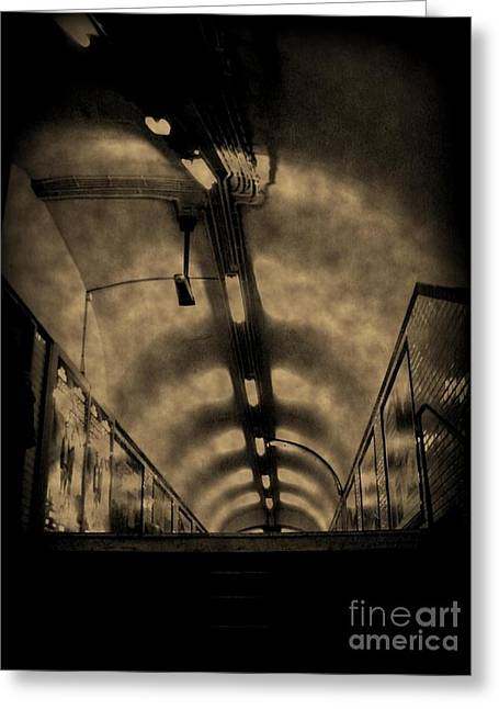 Johnmaloneartist.com Greeting Cards - Gloom Greeting Card by John Malone