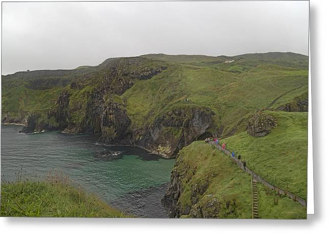 Mystical Landscape Greeting Cards - Glorious Day Northern Ireland Greeting Card by Betsy C  Knapp