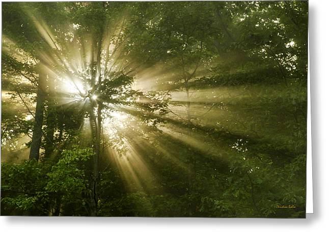 Eternal Inspirational Greeting Cards - Glorious Morning Sunrise Greeting Card by Christina Rollo