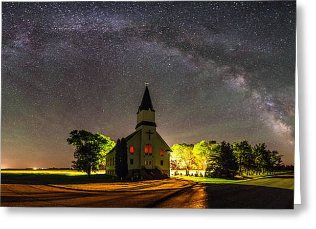 High Resolution Greeting Cards - Glorious Night Greeting Card by Aaron J Groen