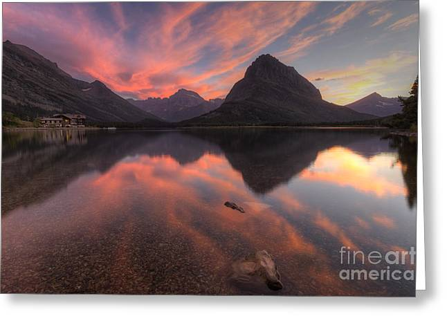 Gould Greeting Cards - Glorious Swiftcurrent Greeting Card by Mark Kiver