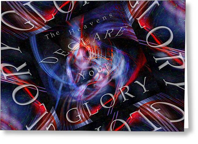 Office Space Digital Art Greeting Cards - Glory 2 Greeting Card by Margie Chapman
