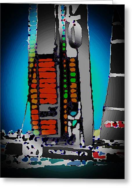 Yachting Mixed Media Greeting Cards - Glory Greeting Card by Andrew Drozdowicz