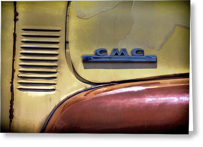 Old Trucks Greeting Cards - GMC Truck Greeting Card by Ken Smith