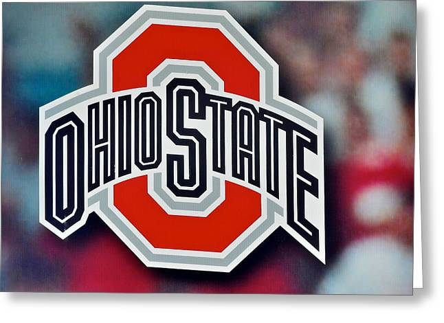 University School Greeting Cards - Go Bucks Greeting Card by Frozen in Time Fine Art Photography