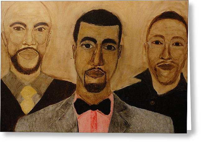 Kanye West Paintings Greeting Cards - GO Hip Hop Greeting Card by Ginnie McKnight