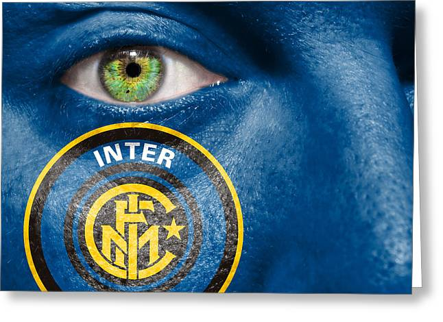 Go Inter Milan Greeting Card by Semmick Photo