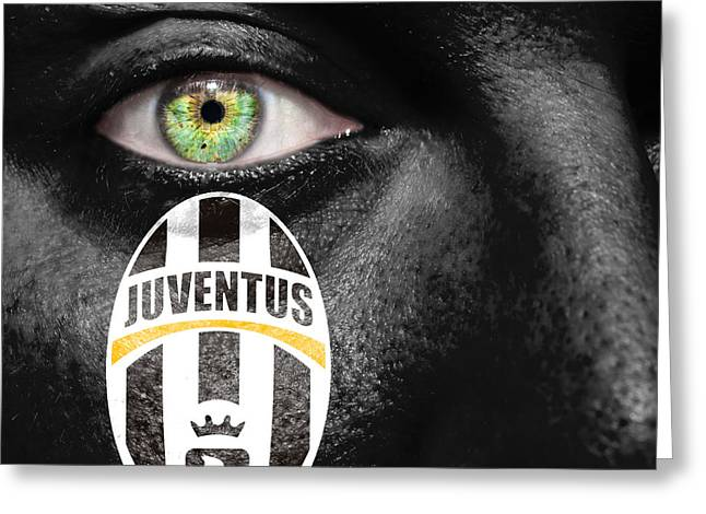 The Followers Photographs Greeting Cards - Go Juventus Greeting Card by Semmick Photo
