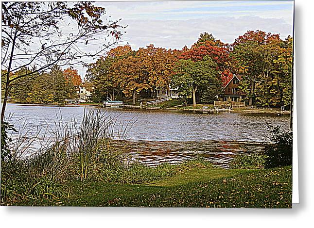 Color Enhanced Greeting Cards - Go Live On The River Greeting Card by Kay Novy