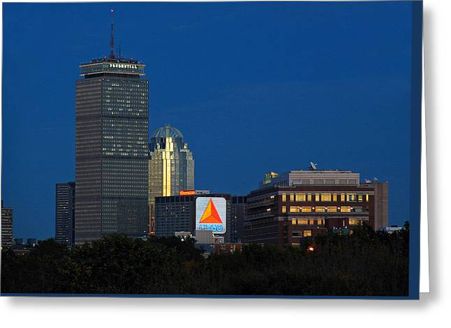 Go Red Sox Greeting Card by Juergen Roth