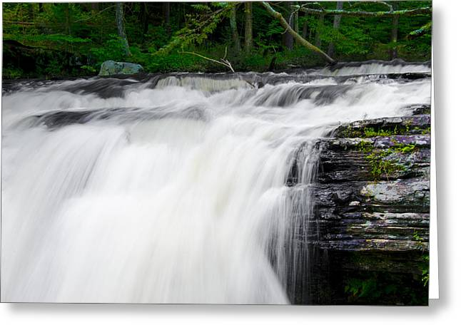 Go With The Flow Greeting Cards - Go With the Flow Greeting Card by Bill Cannon
