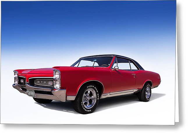 Pontiac Gto Greeting Cards - Goat Greeting Card by Douglas Pittman