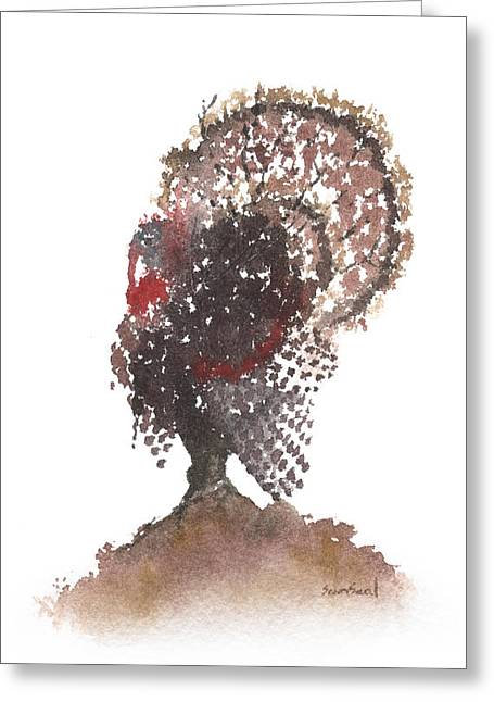 Gobbler Tree 799 Greeting Card by Sean Seal