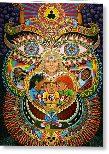 Chris Dyer Greeting Cards - God of Healing Greeting Card by Chris Dyer