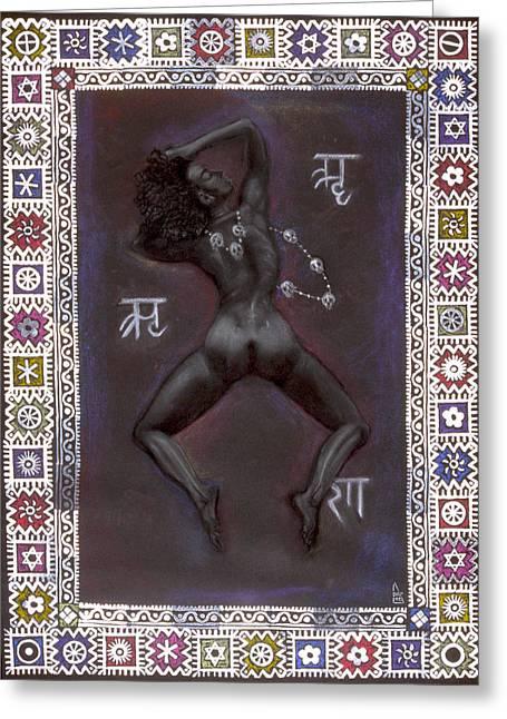 Goddess Kali Greeting Cards - Goddess Kali Greeting Card by Diana Perfect