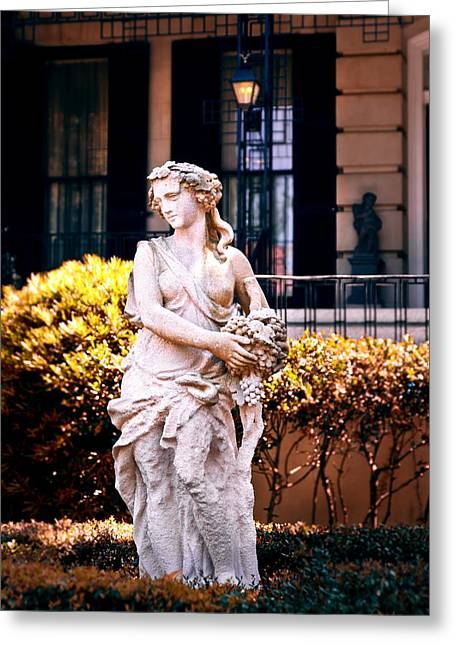 Greek Sculpture Greeting Cards - Goddess of The South Greeting Card by Renee Sullivan