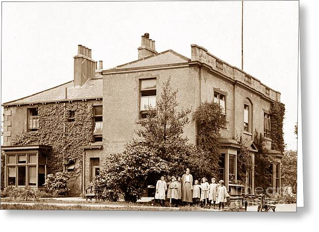 Convalescent Greeting Cards - Godfrey Walker Convalescent Home Conisbrough England Greeting Card by The Keasbury-Gordon Photograph Archive