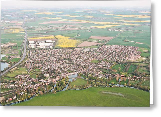 Height Greeting Cards - Godmanchester Greeting Card by Tom Gowanlock