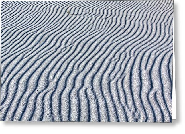 Beach Theme Abstract Greeting Cards - Gods Abstract Greeting Card by JC Findley