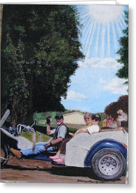 Gods Best Angel Greeting Card by Sherryl Lapping