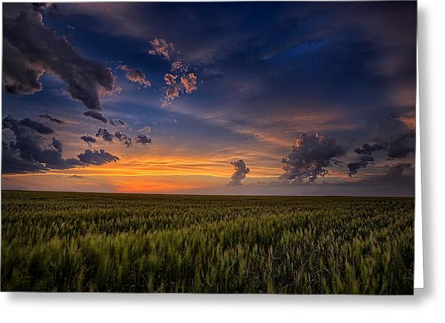 Beauty Greeting Cards - Gods Country Greeting Card by Thomas Zimmerman